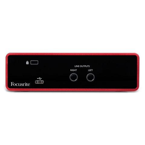 Imagem de Interface de Áudio USB Focusrite Scarlett Solo 3ª Geração