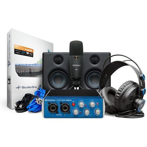 Imagem de Interface presonus audiobox 96 studio ultimate bundle