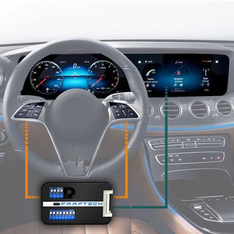 Imagem de Interface Volante Fiat Argo 2017 a 2019 Faaftech FT-WI Desbloqueio Comandos Originais
