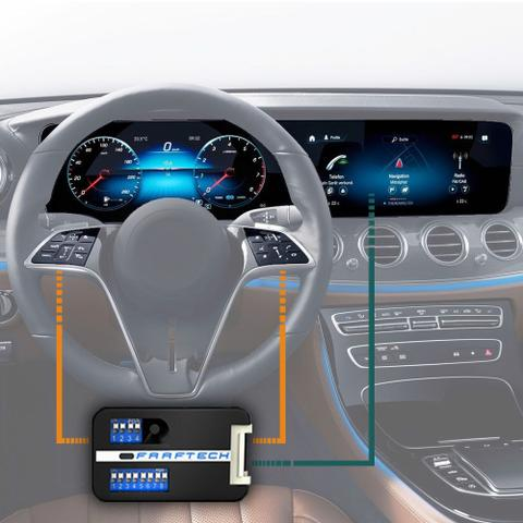 Imagem de Interface Volante Renault Sandero 2008 a 2020 Faaftech FT-RN-WI Desbloqueio Comandos Originais