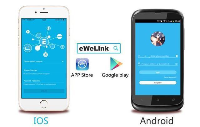 Imagem de Interruptor Wifi - Sonoff - Wireless smart home