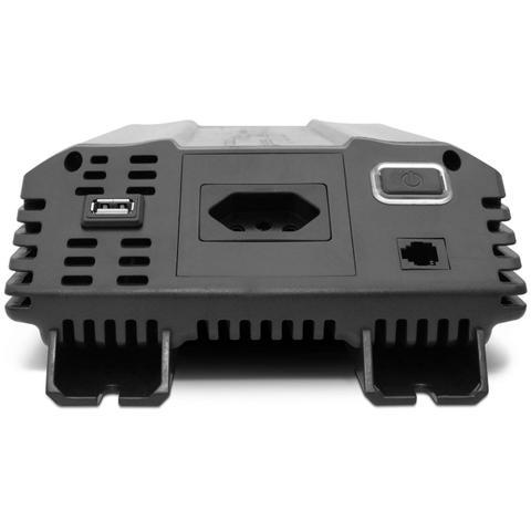 Imagem de Inversor de Voltagem Tech One 1000W 12V para 110V com USB Transformador Conversor de Potência