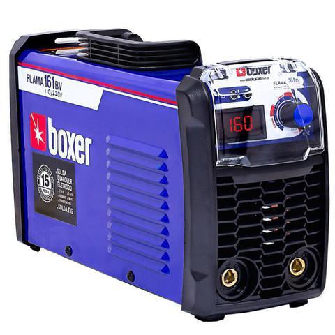 Imagem de Inversora de solda 160 amperes para eletrodo revestido e tig DC - FLAMA 161 BV (110V/220V)