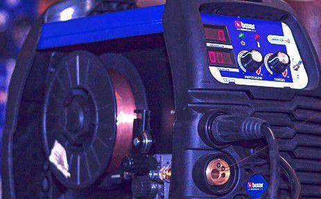 Imagem de Inversora de solda Multiprocesso 160A para Eletrodo Mig e Tig - MIGFLEX 160BV 110V/220V