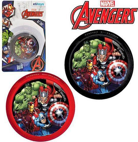 Imagem de Ioiô Avengers Com Luz a Bateria Os Vingadores 5,5cm - 133749