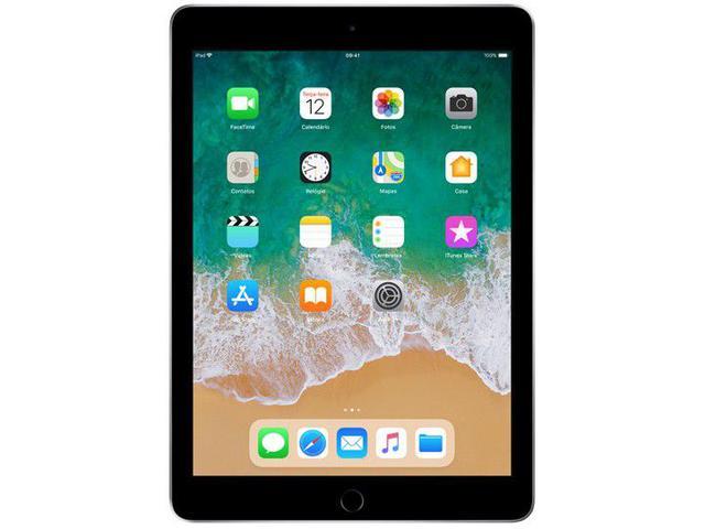 """Imagem de iPad 6 Apple 128GB Cinza Espacial Tela 9.7"""" Retina"""