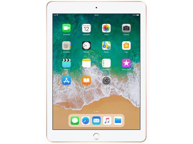 """Imagem de iPad 6 Apple 128GB Dourado Tela 9.7"""" Retina"""