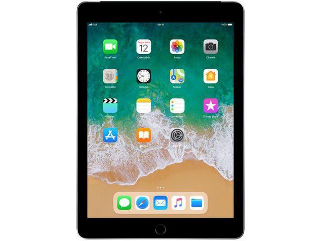 "Imagem de iPad 6 Apple 4G 32GB Cinza Espacial Tela 9,7"""