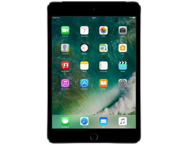 "Imagem de iPad Mini 4 Apple 128GB Cinza Tela 7,9"" Retina 4G"