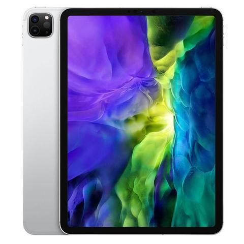 "Imagem de iPad Pro Apple, Tela Liquid Retina 11"", 256 GB, Prata, Wi-Fi + Cellular - MXE52BZ/A"