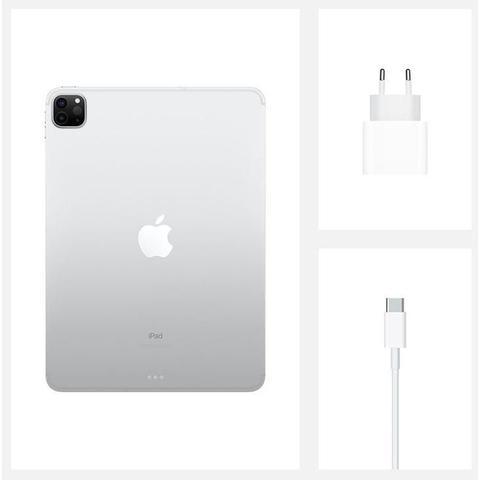 "Imagem de iPad Pro Apple, Tela Liquid Retina 12,9"", 1 TB, Prata, Wi-Fi + Cellular - MXFA2BZ/A"