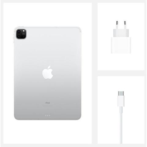 "Imagem de iPad Pro Apple, Tela Liquid Retina 12,9"", 256 GB, Prata, Wi-Fi + Cellular - MXF62BZ/A"