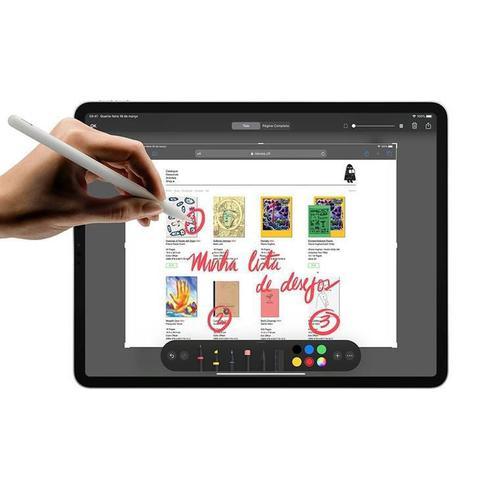 """Imagem de iPad Pro Apple, Tela Liquid Retina 12,9"""", 512 GB, Cinza Espacial, Wi-Fi + Cellular - MXF72BZ/A"""