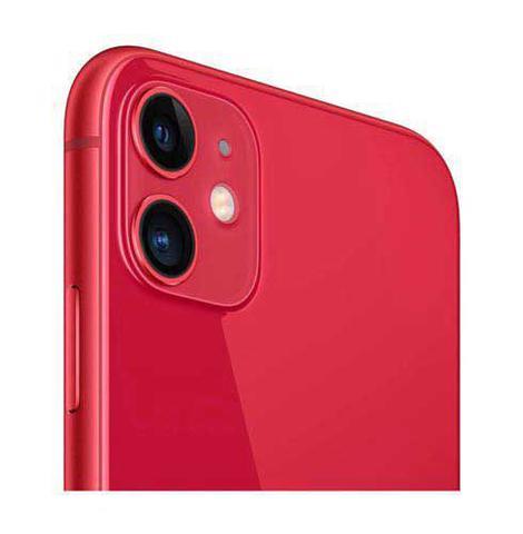 Imagem de iPhone 11 256GB (PRODUCT) RED, com Tela de 6,1