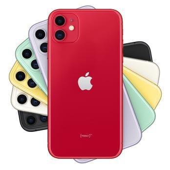 """Imagem de iPhone 11  64GB Product Red 4G Tela 6,1"""" - Retina Câmera Dupla 12MP + Selfie 12MP"""