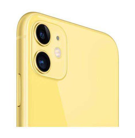 Imagem de iPhone 11 Amarelo, com Tela de 6,1