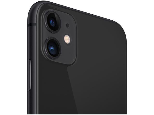 "Imagem de iPhone 11 Apple 64GB Preto 4G Tela 6,1"" Retina"