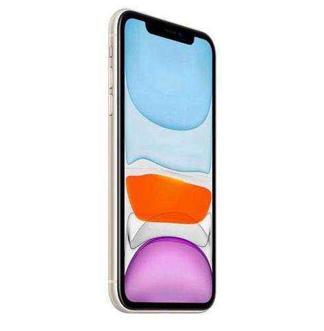 Imagem de iPhone 11 Branco, com Tela de 6,1