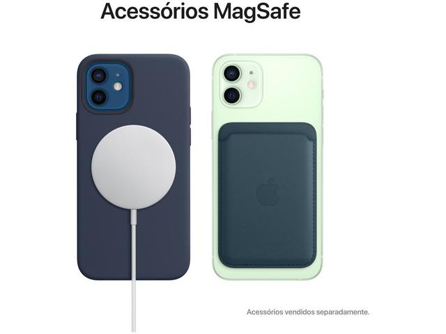 "Imagem de iPhone 12 Apple 128GB Azul Tela 6,1"""