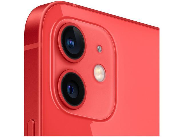 """Imagem de iPhone 12 Apple 128GB (PRODUCT)RED Tela 6,1"""""""