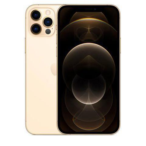 Celular Smartphone Apple iPhone 12 Pro 128gb Dourado - Dual Chip