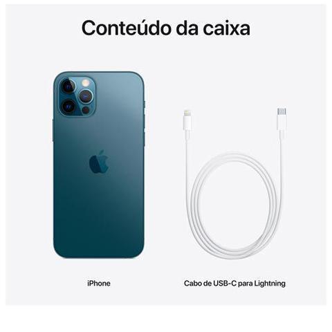 Imagem de iPhone 12 Pro Max 256GB Azul Pacífico, com Tela de 6,7