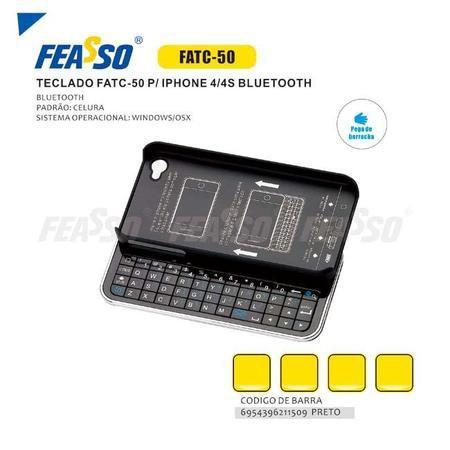 Imagem de Iphone 4/4s Teclado Bluetooth Feasso Fatc-50