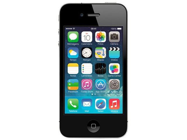 "Imagem de iPhone 4s Apple 8GB 3G iOS 7 Tela 3.5"" Wi-Fi"