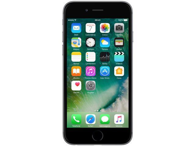 "Imagem de iPhone 6 Apple 64GB Cinza Espacial 4G Tela 4.7"""