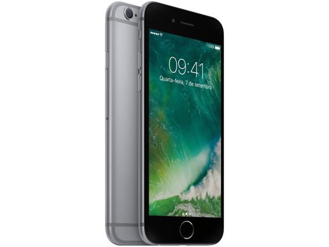 Imagem de iPhone 6s Apple 16GB Cinza Espacial 4G Tela 4.7