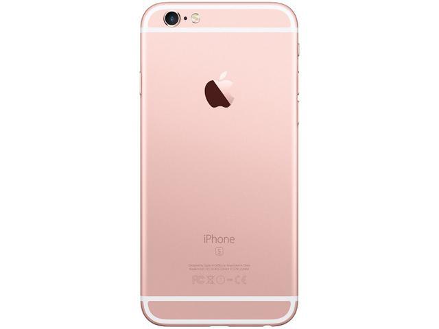 "Imagem de iPhone 6s Apple 32GB Ouro Rosa 4G Tela 4.7"""