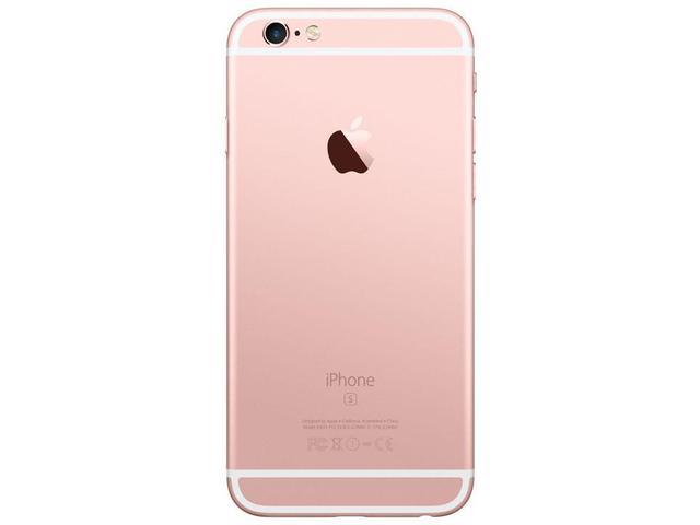 "Imagem de iPhone 6S Apple 64GB Ouro Rosa 4G Tela 4,7"" Retina"