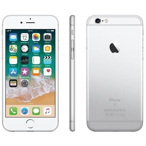Imagem de iPhone 6s Apple Prata 32GB, Desbloqueado - MN0X2BR/A