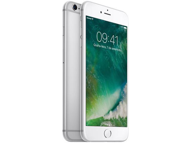 """Imagem de iPhone 6s Plus Apple 128GB Prata 4G Tela 5.5"""""""