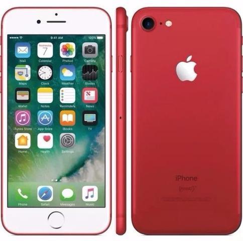 Imagem de iPhone 7 128GB Red Tela 4.7 iOS 10 4G Câmera 12MP - Apple Vermelho