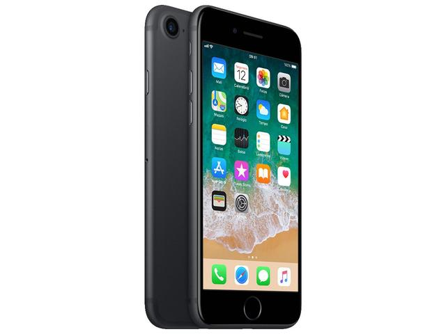 Imagem de iPhone 7 Apple 128GB Preto Matte 4G Tela 4.7""