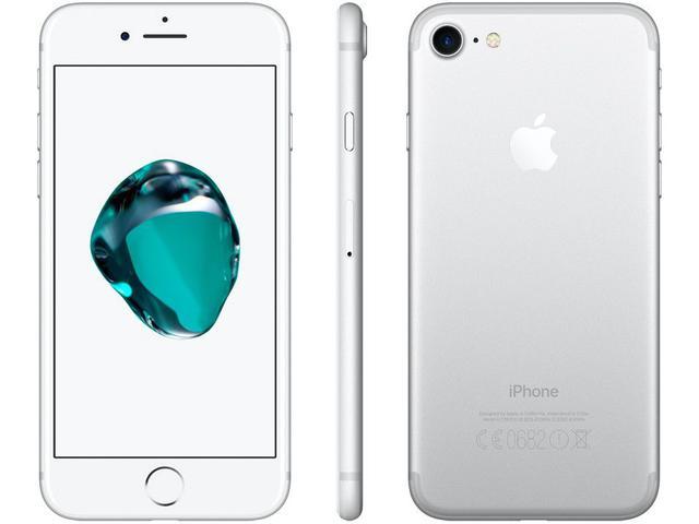 """Imagem de iPhone 7 Apple 32GB Prateado 4,7"""" 12MP"""