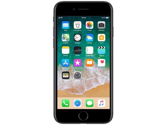 "Imagem de iPhone 7 Apple 32GB Preto Matte 4G Tela 4.7""Retina"
