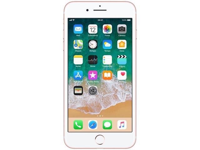 """Imagem de iPhone 7 Plus Apple 128GB Ouro Rosa 4G Tela 5.5"""""""