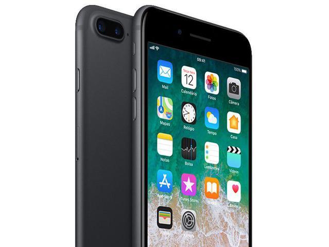 """Imagem de iPhone 7 Plus Apple 128GB Preto Matte 4G Tela 5.5"""""""
