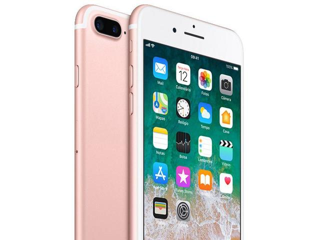 """Imagem de iPhone 7 Plus Apple 32GB Ouro Rosa 4G Tela 5.5"""""""