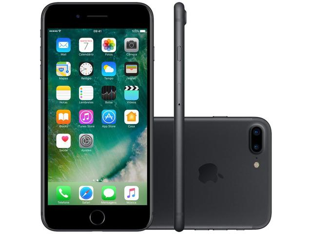 Imagem de iPhone 7 Plus Apple 32GB Preto Matte 4G Tela 5.5""
