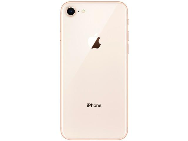 "Imagem de iPhone 8 Apple 64GB Dourado 4,7"" 12MP"