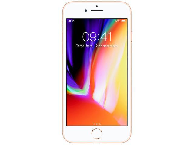 """Imagem de iPhone 8 Apple 64GB Dourado 4G Tela 4,7"""""""