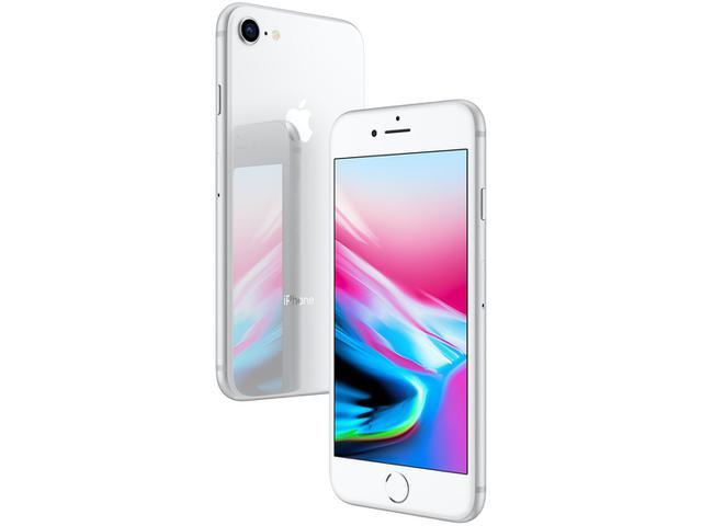 """Imagem de iPhone 8 Apple 64GB Prateado 4,7"""" 12MP"""