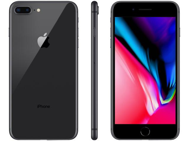 "Imagem de iPhone 8 Plus Apple 128GB Cinza-espacial 5,5"" 12MP"
