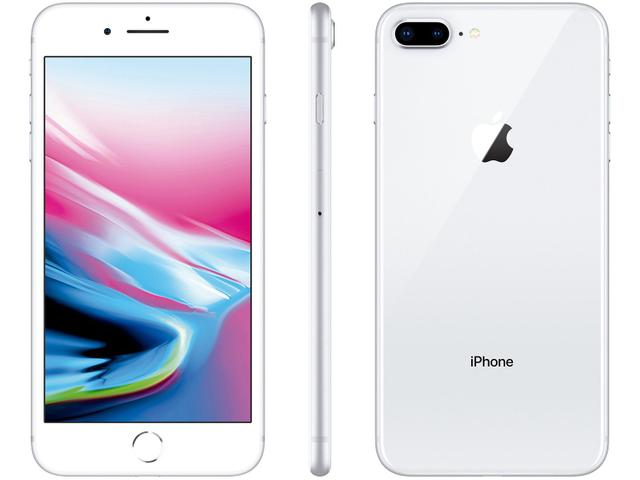 Imagem de iPhone 8 Plus Apple 256GB Prata 4G Tela 5,5""