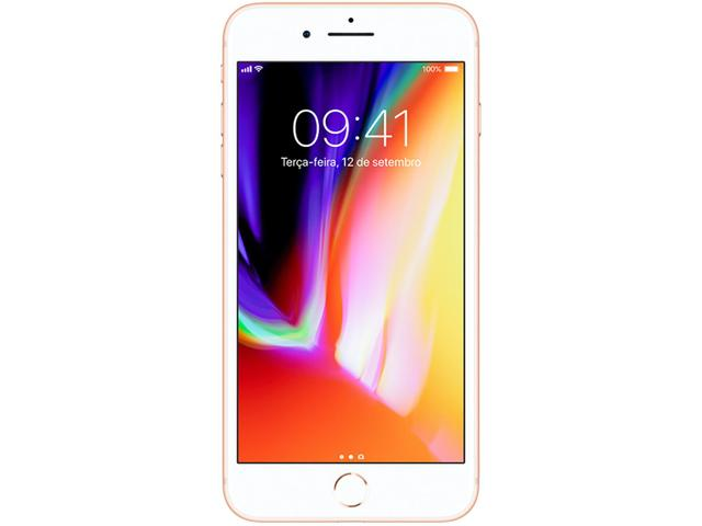Imagem de iPhone 8 Plus Apple 64GB Dourado 4G