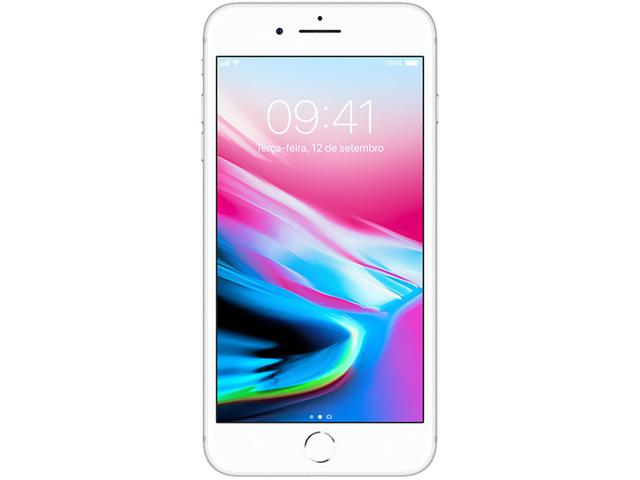 """Imagem de iPhone 8 Plus Apple 64GB Prata 4G Tela 5,5"""""""