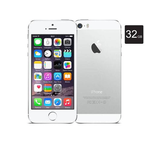 Imagem de iPhone Apple 5S, Prata, Tela de 4